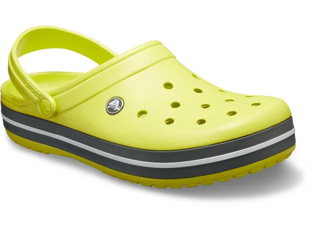 Crocs Crocband Clogsit, citrus/grey